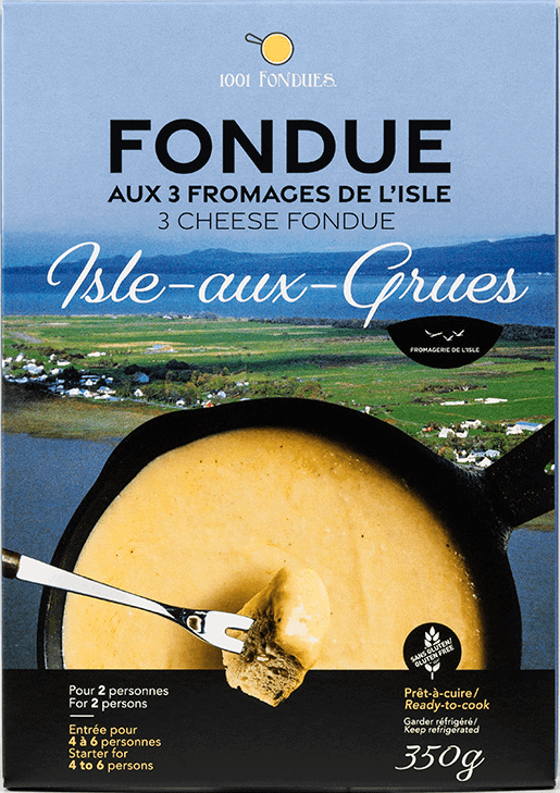 Fondue aux 3 fromages de l'Isle - Fromagerie de l'Isle