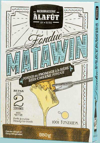 Matawin Fondue - À la Fût microbrewery