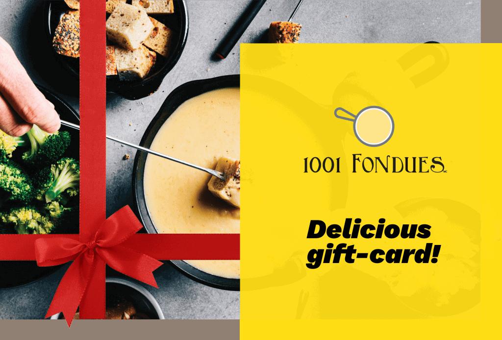1001 fondues Gift card -